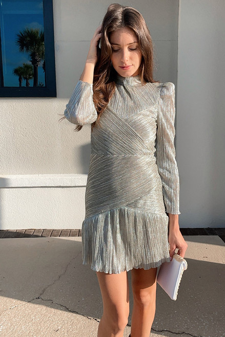 Saylor Saydee Long Sleeve Mini Dress