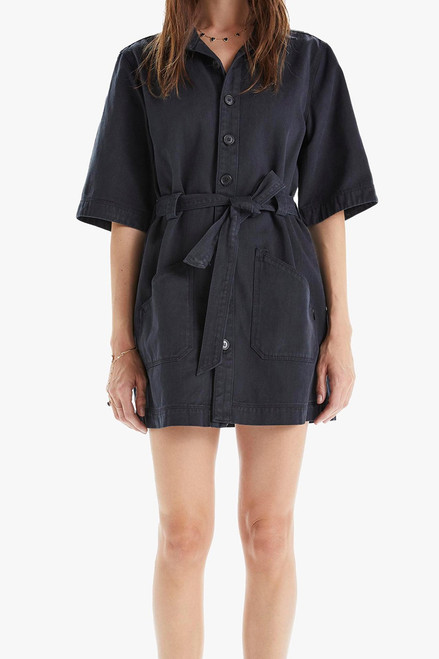 Mother The Elbow Grease Mini Dress in Shootin' The Breeze