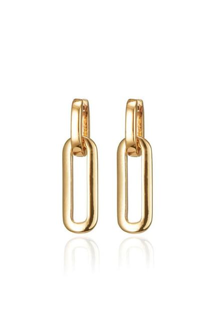 Jenny Bird Teeni Detachable Link Earring in Gold