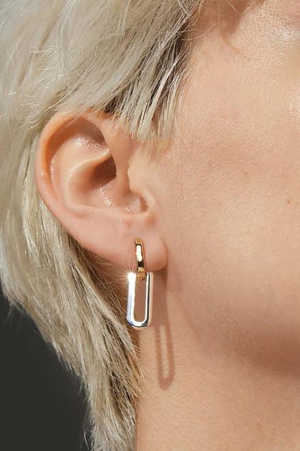 Jenny Bird Teeni Detachable Earring in Two Tone
