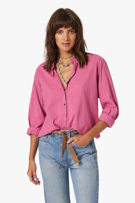Xirena Beau Longsleeve Button Down Shirt Front View