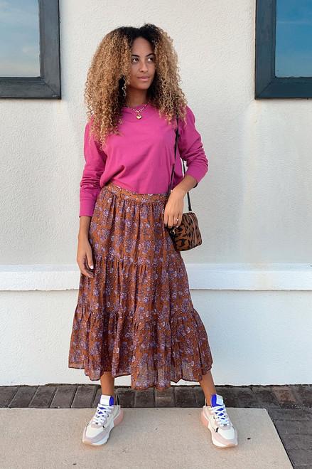 Xirena Iris Maxi Skirt Front View