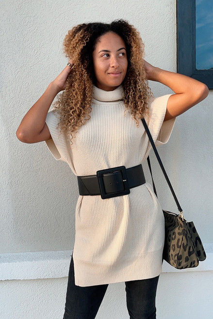 Just Female Norm Short Sleeve Sweater