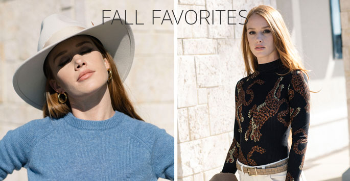 FALL FAVORITE STYLES FROM PENELOPE T
