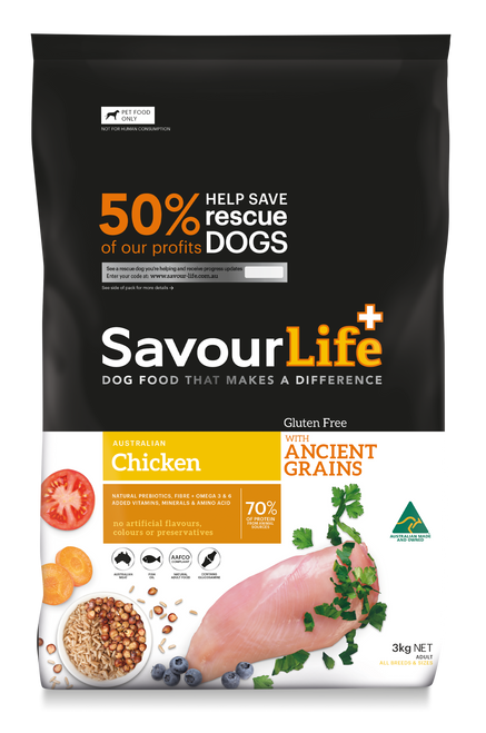 Gluten Free, with  Ancient Grains and Chicken 3kg