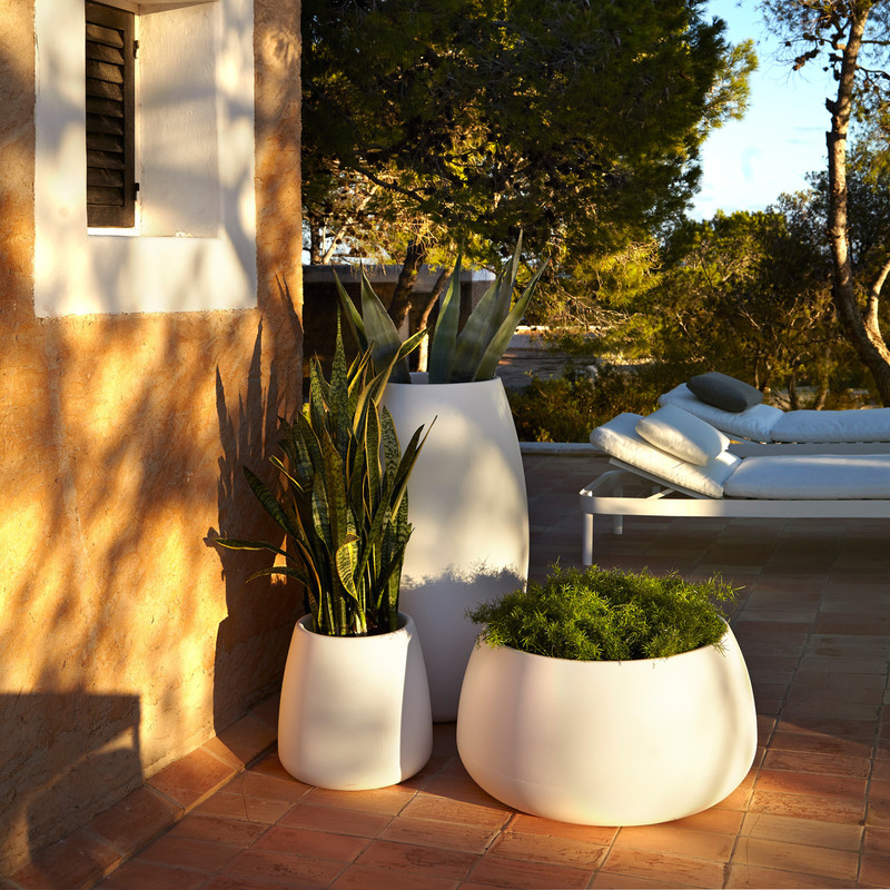 """The Sahara collection of plant pots are the perfect accessory that go with GANDIABLASCO collections, be it in the porch, on the terrace or by the poolside, as well as in other indoor and outdoor spaces."" – Pablo Gironés –"