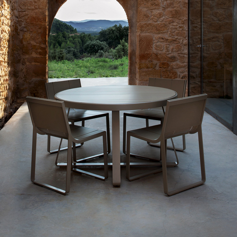 Gandiablasco  Flat circular table