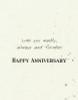 DSM3106 - Anniversary Card