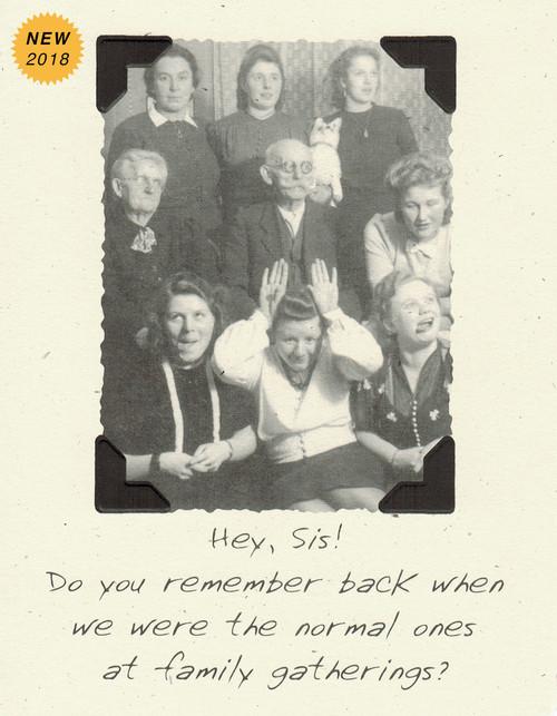 DSM3340 - Sister Birthday Card