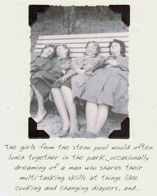 DSM3440B - Women's Humor Card Front