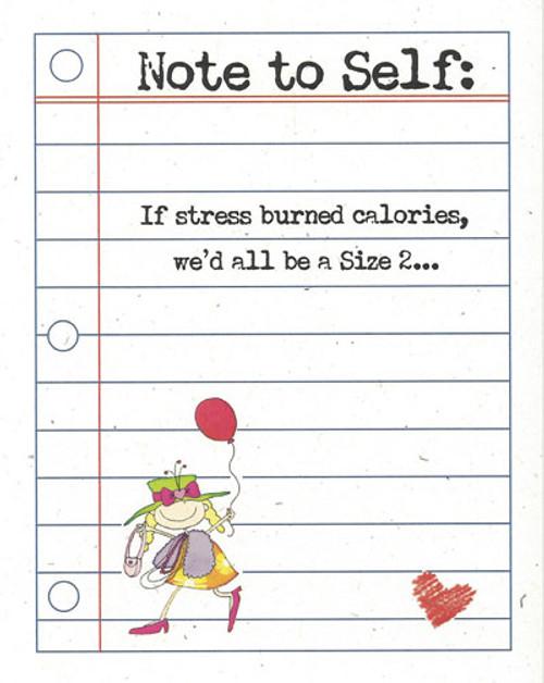 Stress Burned Calories