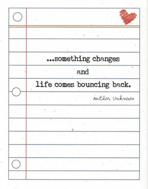 Life Bounces Back
