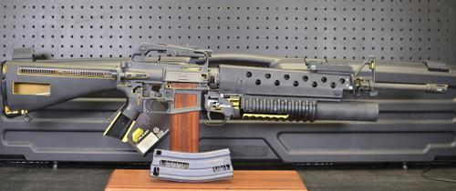 Colt M-16A1 w/M203 40MM Grenade Launcher Factory Cutaway!