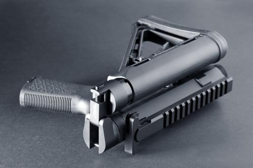 "HERA ""SFU"" Side Folding Unit Adaptor, SFU, Side Folding Unit, AR Side Folding, AR-15 Side folding unit"