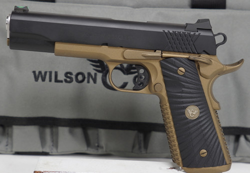 Wilson Combat 1911 XTac Bronze and Black 9mm