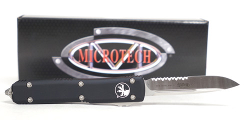 "Microtech Ultratech S/E OTF Automatic Knife Black 3.4"" (121-5)"