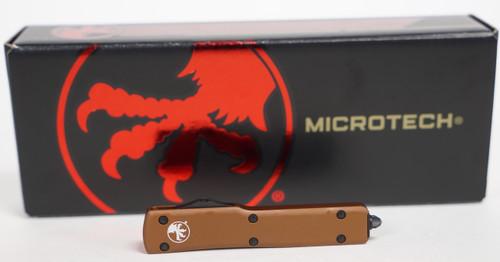 Microtech UTX-70 D/E Tan Standard OTF
