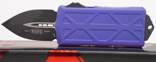 Microtech Exocet Purple Standard 157-1 PU