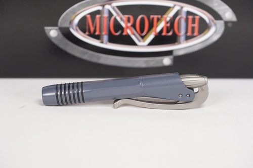 Microtech Siphon II Grey Stainless Steel Pen