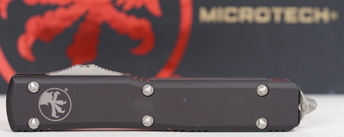 Microtech Ultratech D/E Stonewash Partial Serrated