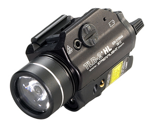 Streamlight TLR-2 HL - Gun Light - full frontal/side view