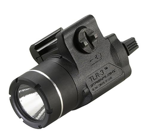 Streamlight TLR-3 - Gun Light - full frontal/side view