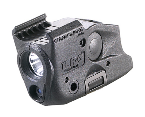 Streamlight TLR-6 - Tactical Gun Light - full front/side view