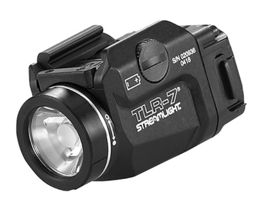 Streamlight TLR-7 - Gun Light w/Side Switch - full front/side view