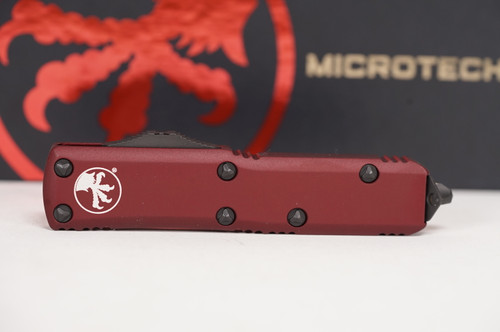 Microtech UTX-85 S/E Merlot Standard - Full view w/ blade closed