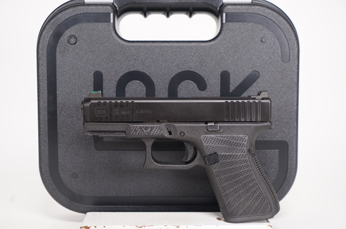 Wilson Combat Glock 19 GEN 5 9mm, Package 2 left side full view w/ Glock case