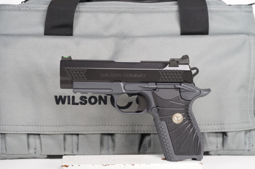 Wilson Combat EDC X9 Black over Grey Rail