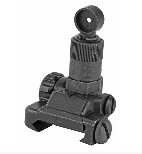 KAC-Folding Micro Rear Sight, 200-600 Meter Adjustable 25650