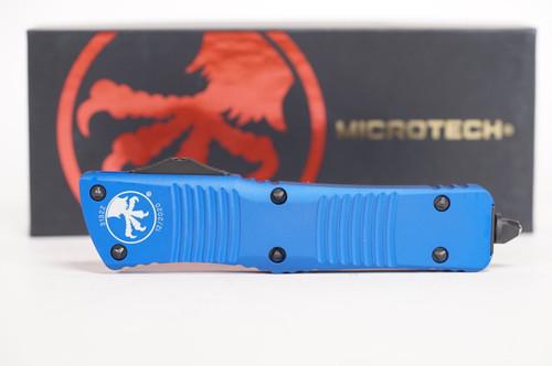 Microtech Combat Troodon D/E BLK Standard BLU