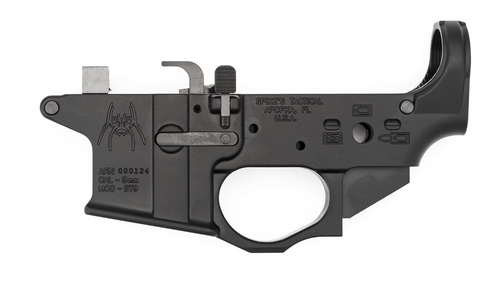 Spikes Tactical - 9mm Spider Stripped Lower - GLOCK
