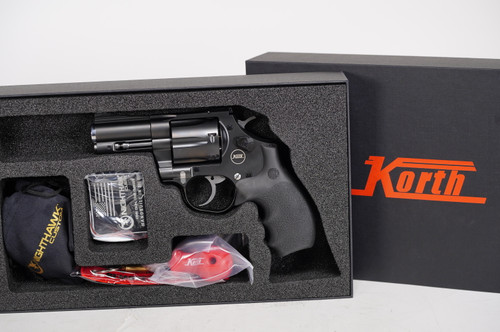 Korth Mongoose 2.75 inch 357 mag with 9mm cylinder