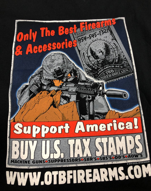 OTB Tax Stamp T-Shirts