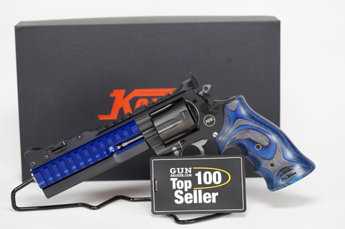 Nighthawk Custom Korth ALX 357 mag Blue