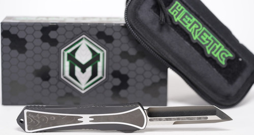 Heretic Knives Manticore X - Hand Ground Tanto w/Fat Carbon Inlay