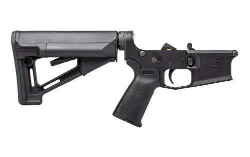 Aero Precision -M4E1 Complete Lower Receiver w/ Magpul™ MOE and STR - Anodized Black