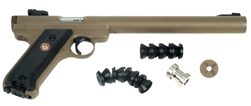 AWC Amphibian II Integrally Suppressed 22LR - Cerakoated FDE