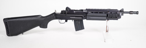 Ruger AC556F, .223rem Shorty with Clyde Armory Sage Stock !