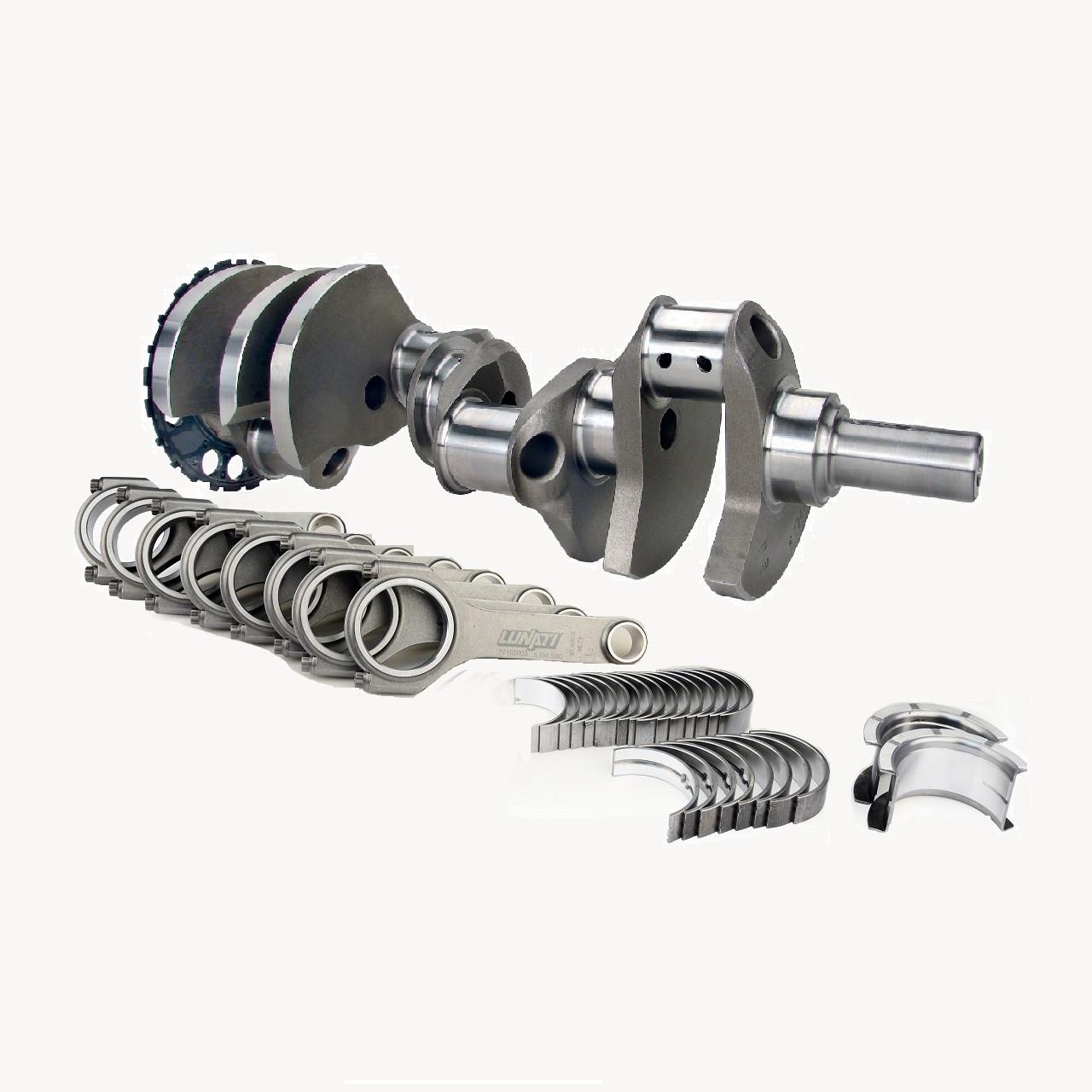 """Lunati Voodoo 24X Crankshaft /& 6.125/"""" Hbeam Rods Kit for Chevrolet Gen III LS"""