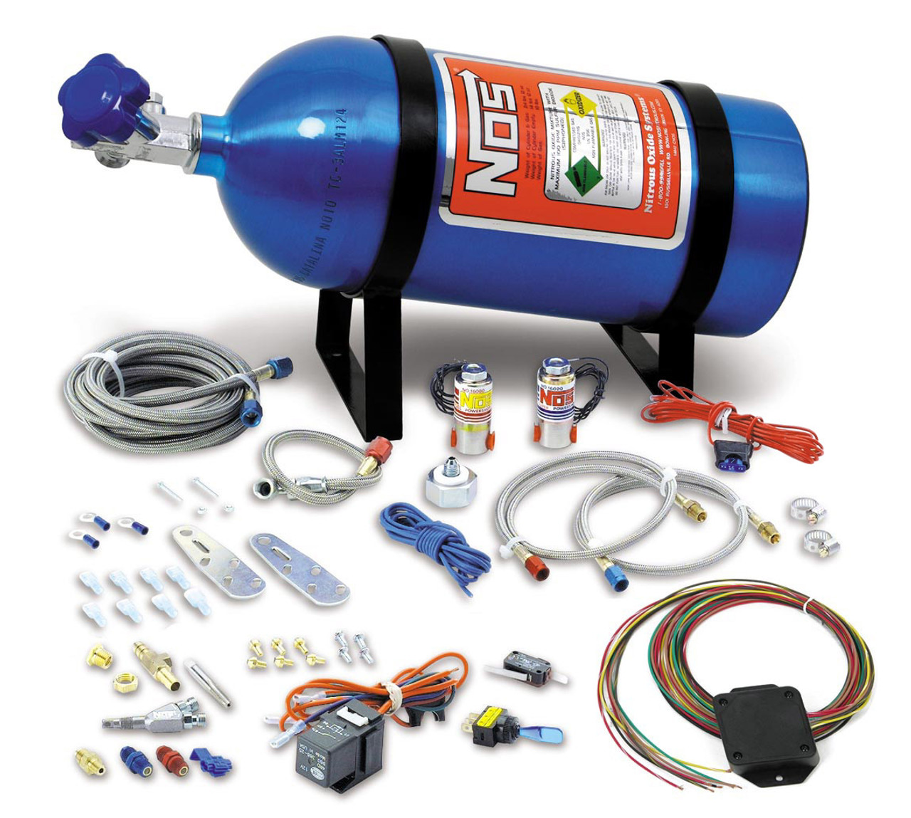 Drive By Wire >> Nos Universal Wet Nitrous Kit 05135nos Drive By Wire 8 Cyl