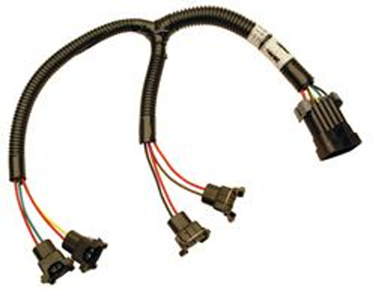 FAST XFI Fuel Injector Harness for SBC & LT1 301200 Fast Fuel Injection Wiring Harness on