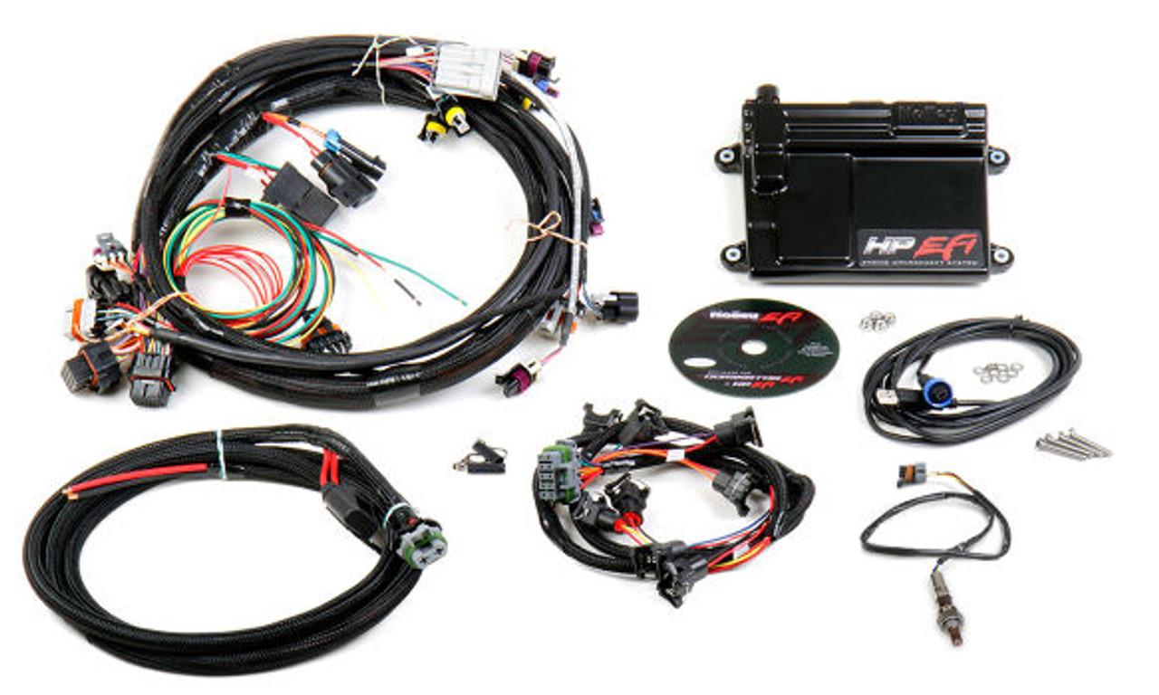 Holley HP EFI GM LS 24x ECU & Harness Kit w/ NTK O2 550-602N on