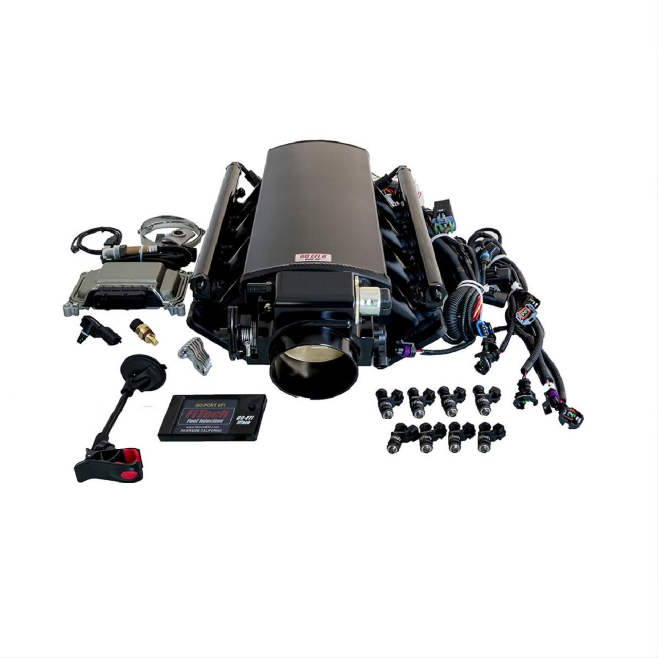 FiTech 500HP LS1/LS2/LS6 92mm Ultimate EFI System w/ Transmission Control on