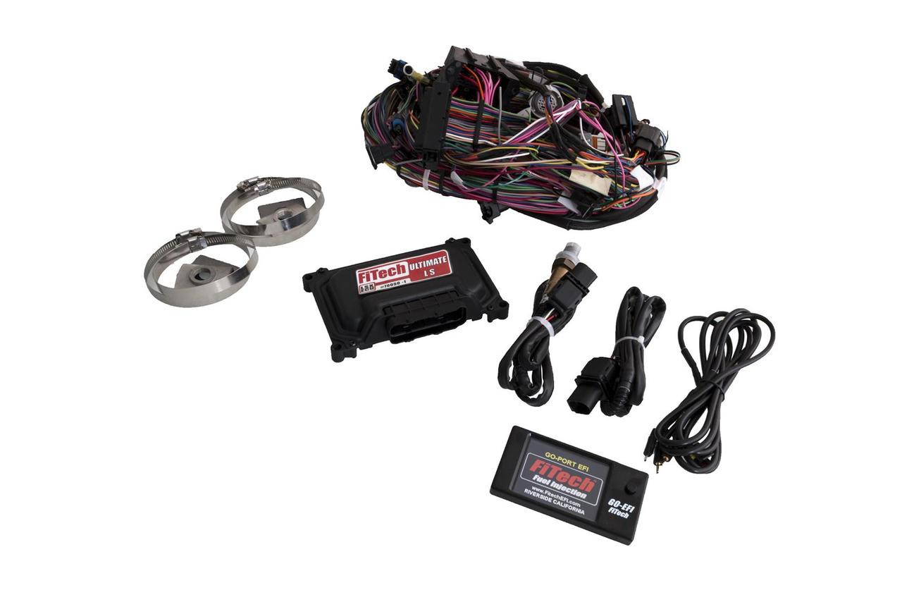 Fitech Ultimate Ls Standalone Ecu Wire Harness 70051 Lsx Wiring W Transmission Control