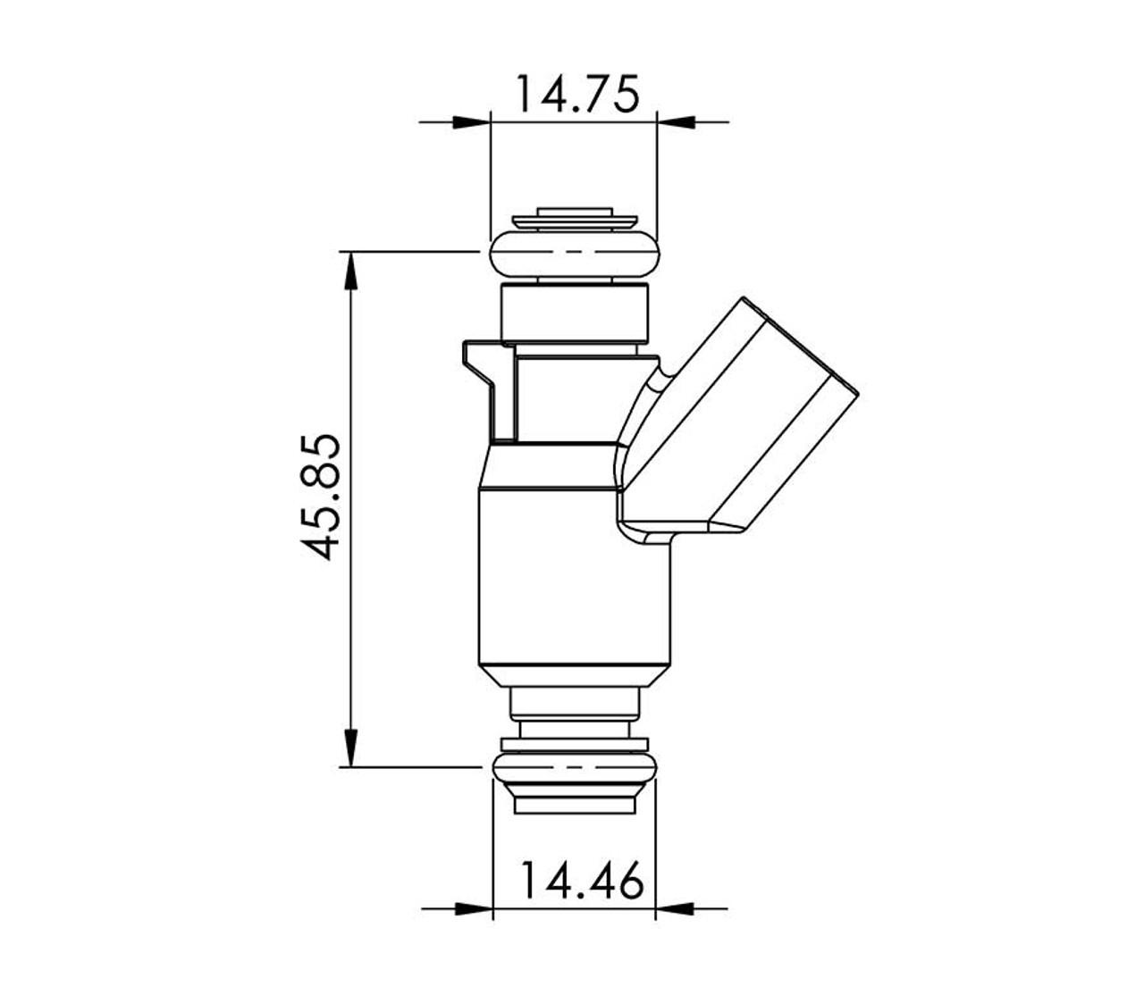 Delphi 52lb/hr 2000-07 LS Truck Injectors