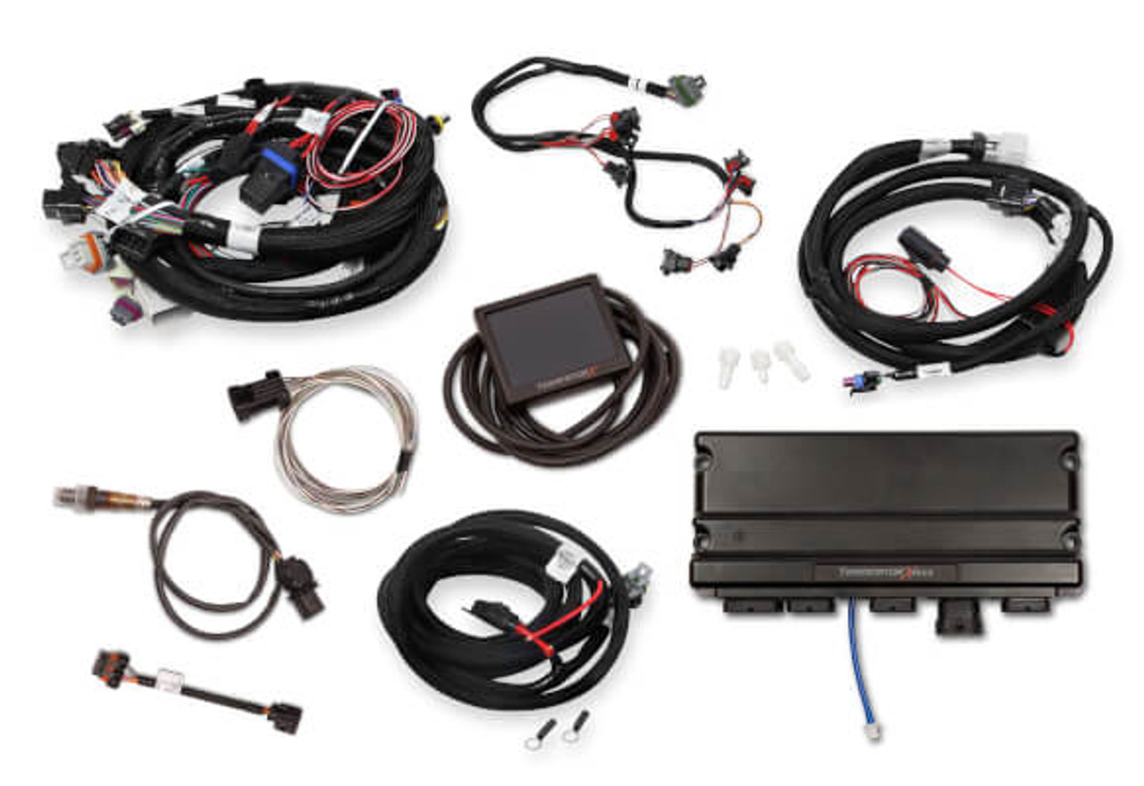 Holley Terminator X Max GM LS Standalone ECU & Wire Harness 550-919 on gm remanufactured engines, gm engines for trucks, ls1 engine information, gm lsx engine, gm 6.2l engine, gm high feature engine, gm performance crate engines prices, gm 54 degree v6 engine, gm performance parts crate engines, gm 3.4 v6 engine, lt1 engine information, gm crate race engines, gm 122 engine, gm lsa engine, chevy 454 engine information, gm ls6 engine information, chrysler 440 engine information, gm vortec engine, gm engine screensaver,