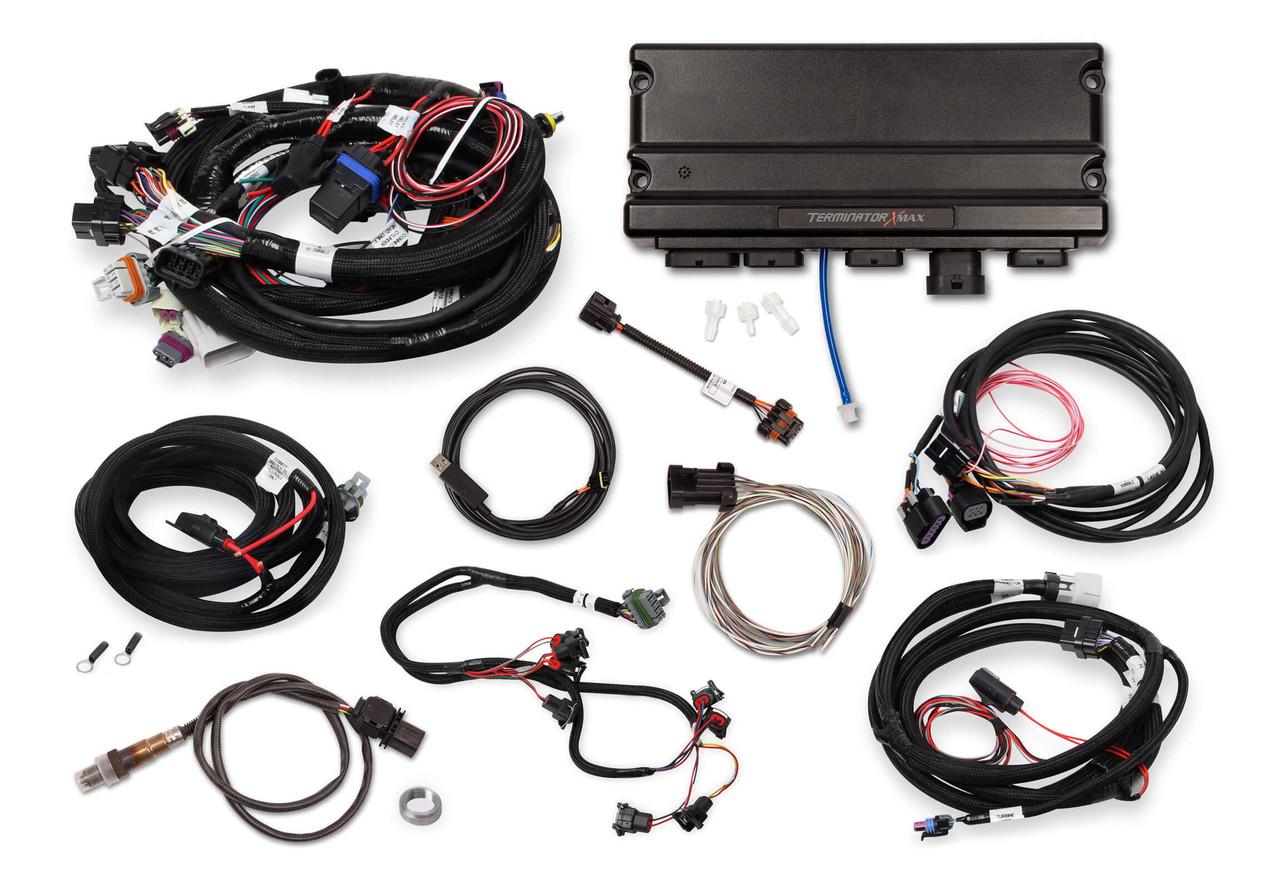 Holley Terminator X Max GM LS Standalone ECU & Wire Harness 550-926T -  24x/EV1LSXceleration